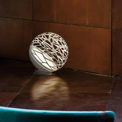 Светильник настольный KELLY TA1 small sphere D40 bianco/bianco Studio Design Italia
